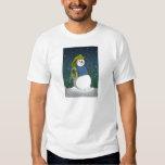 Firefighter Snowman Shirts
