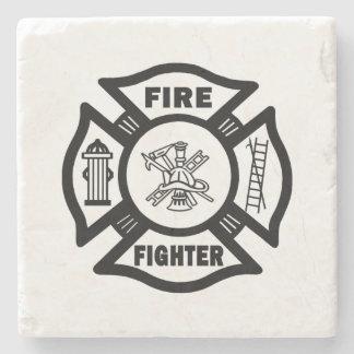 Firefighter Stone Coaster