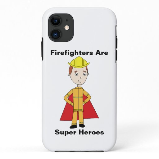 Firefighter Super Hero Personalize iPhone 11 Case