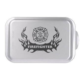 Firefighter Tattoo Cake Pan