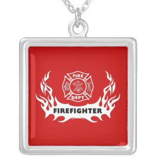 Firefighter Tattoo Pendant
