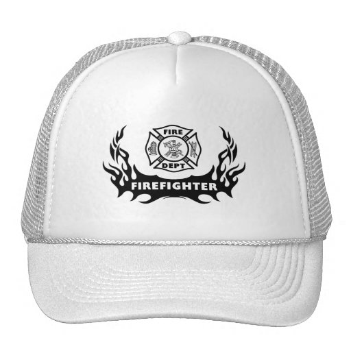 Firefighter Tattoo Trucker Hat