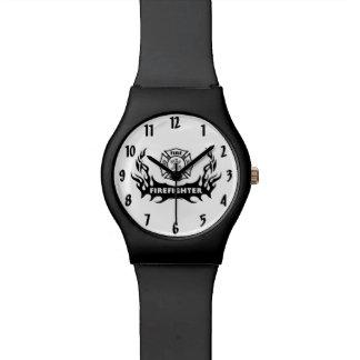 Firefighter Tattoo Wristwatch