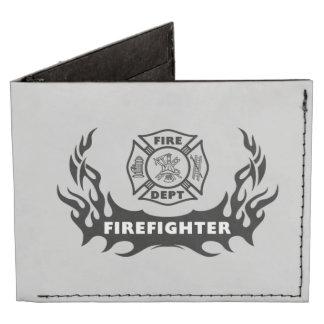 Firefighter Tattoos Billfold Wallet