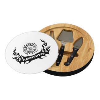 Firefighter Tattoos Cheese Board