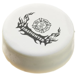 Firefighter Tattoos Chocolate Covered Oreo
