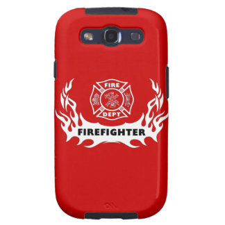 Firefighter Tattoos Galaxy S3 Cases