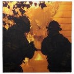 Firefighter Team Cloth Napkin
