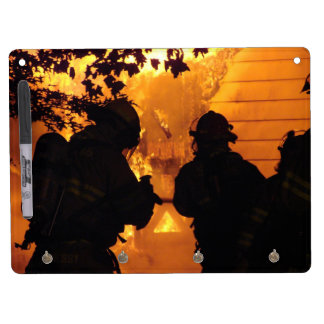 Firefighter Team Dry-Erase Board