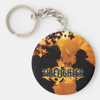 Firefighter Team Keychain