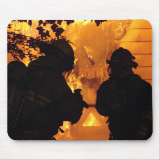 Firefighter Team Mouse Pad
