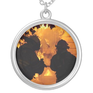 Firefighter Team Custom Necklace Charms
