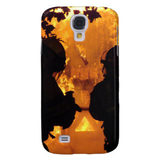 Firefighter Team Samsung Galaxy S4 Cases
