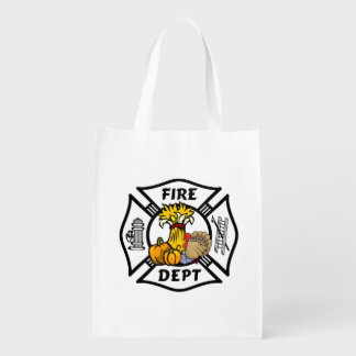 Firefighter Thanksgiving Market Tote