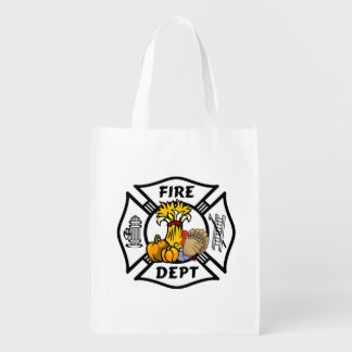 Firefighter Thanksgiving Market Totes