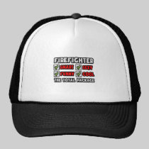 Firefighter ... The Total Package Mesh Hats