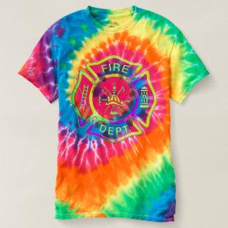 Firefighter Tie Dye T-shirt