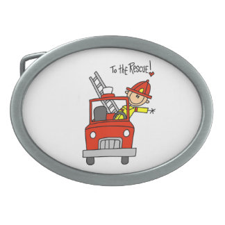 Firefighter to the Rescue T-shirts and Gifts Belt Buckles