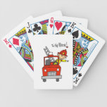 Firefighter to the Rescue T-shirts and Gifts Bicycle Playing Cards