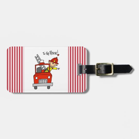 Firefighter to the Rescue T-shirts and Gifts Luggage Tag