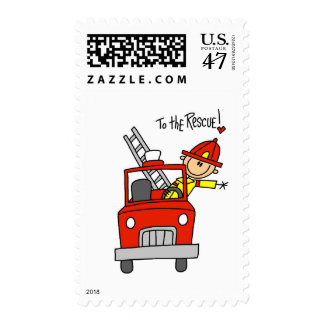 Firefighter To the Rescue Tshirts and Gifts Postage