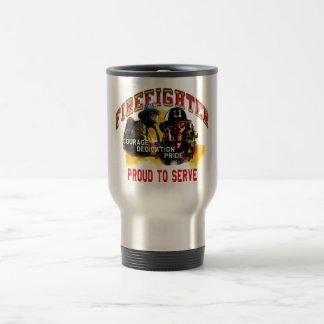 Firefighter Travel Mug