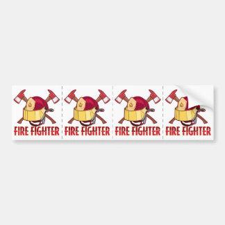 Firefighter Tribute Bumper Sticker