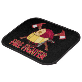 Firefighter Tribute Car Mat