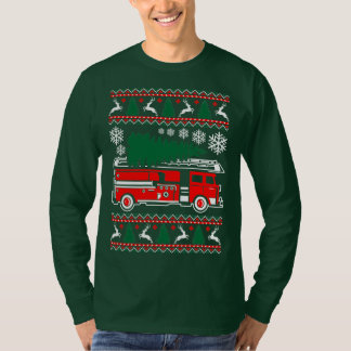 Firefighter Ugly Christmas Sweater Xmas