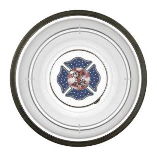 Firefighter USA Patriotic Bowl