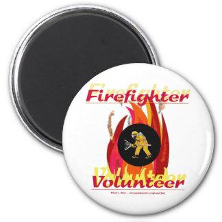 Firefighter Volunteer. Magnet