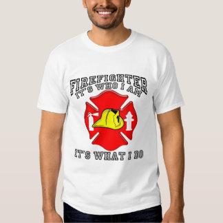 Firefighter Who I Am T Shirt