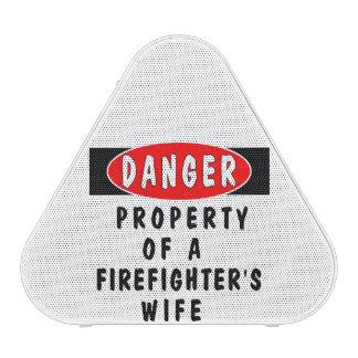 Firefighter Wife Bluetooth Speaker