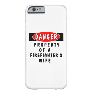 Firefighter Wife iPhone 6 Case