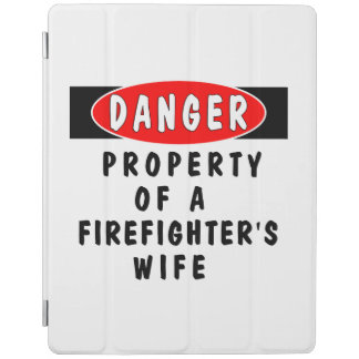 Firefighter Wife iPad Cover