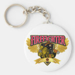 Firefighter Wings Key Chains