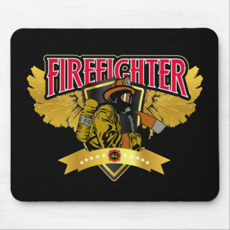 Firefighter Wings Mouse Pad