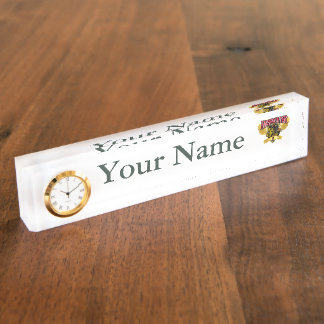 Firefighter Wings Nameplate