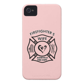 Firefighter Wives of Asheville Fire Dept iPhone 4 Case-Mate Case