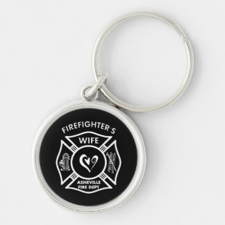 Firefighter Wives of Asheville Fire Dept Keychain