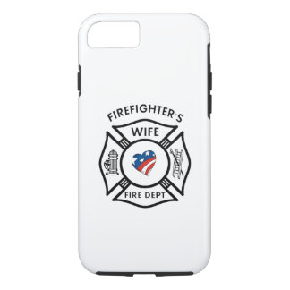 Firefighter Wives USA iPhone 8/7 Case