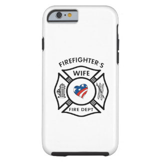 Firefighter Wives USA Tough iPhone 6 Case