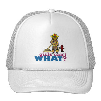 Firefighter Women Trucker Hats