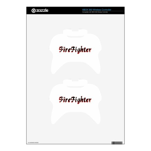 FireFighter Xbox 360 Controller Skin