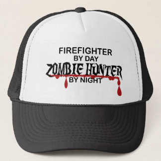 Firefighter Zombie Hunter Trucker Hat