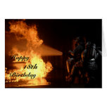 Firefighter's 18th Birthday Cards