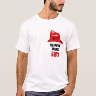 Firefighters against RUDY T-Shirt
