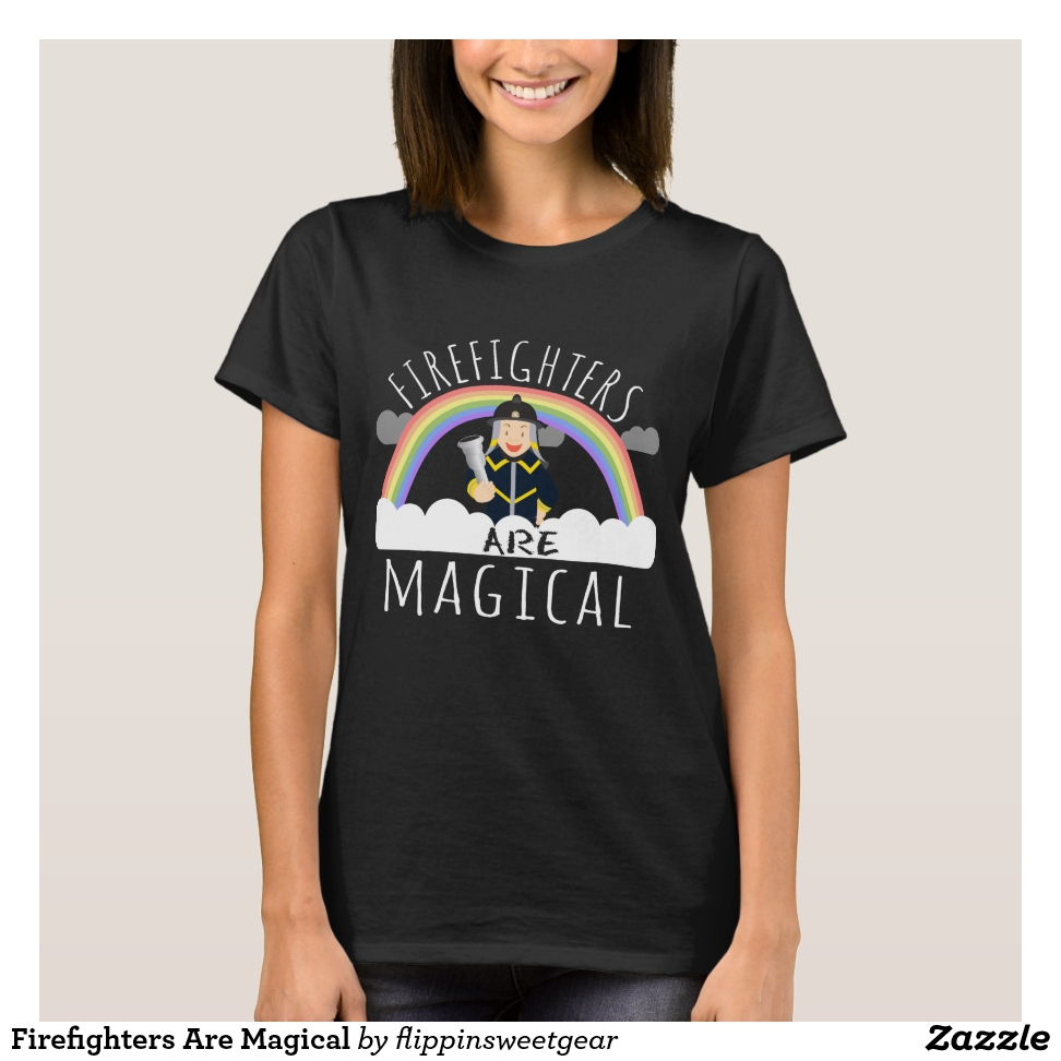 Firefighters Are Magical T-Shirt - Best Selling Long-Sleeve Street Fashion Shirt Designs