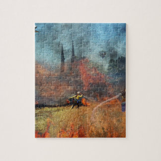 Firefighters are our true heroes jigsaw puzzle