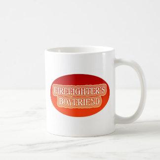Firefighter's Boyfriend Coffee Mug